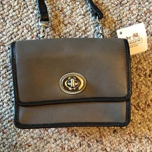 Authentic Coach Mini Bag with Removable Strap